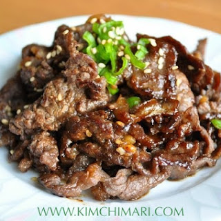 Bulgogi - Authentic Korean Beef BBQ.