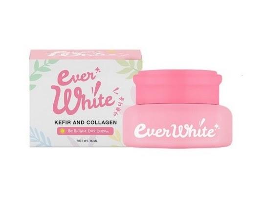 Cream Siang Everwhite Day Cream EVERWHITE krim anti uv melembabkan memutihkan seketika glowing tampak awet muda