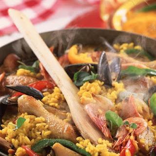 Paella-Style Risotto