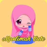 Muslimah Cartoon Cute