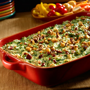 Green Flag Spinach Artichoke Dip