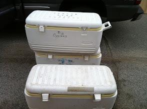 Photo: Ice chests 128 qt.