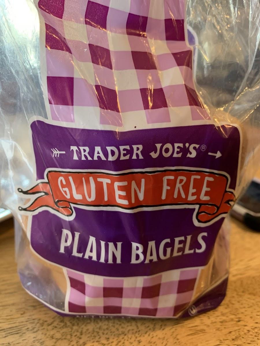 Gluten Free Plain Bagels