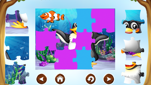 Penguin Puzzle Games For Kids