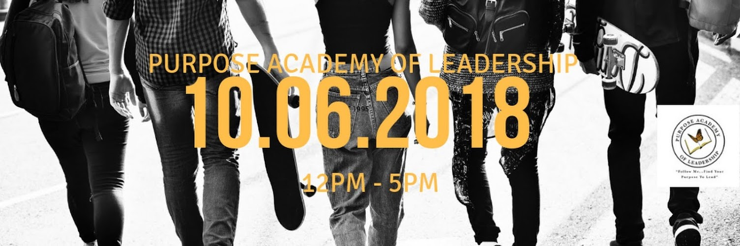 Purpose Academy of Leadership Launch