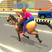 Offroad Horse Taxi Carriage Simulator
