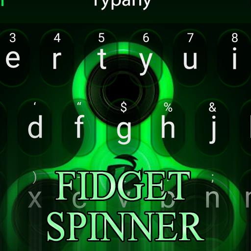 Fidget Spinner Tech Theme&Emoji Keyboard