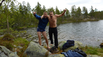 Photo: We made it! But it's cold!