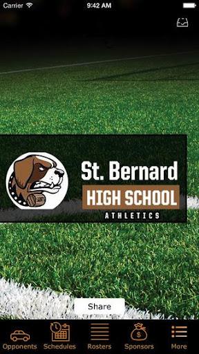St Bernard Saints Athletics