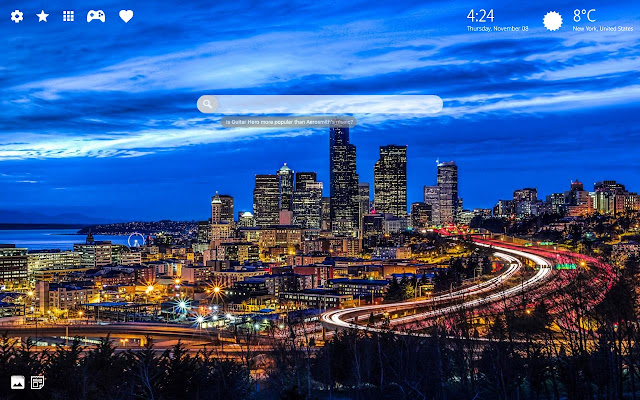Seattle Wallpaper Hd New Tab Theme