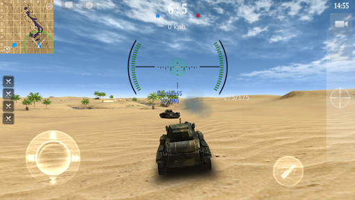 Armored Aces - 3D Tank War Online 3.0.3 screenshots 23
