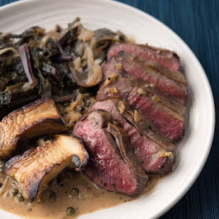Classic Steak au Poivre.