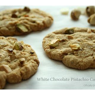 White Chocolate Pistachio Cookies.