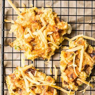 Cheesy Quinoa Waffles