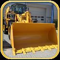 City Excavator Crane Simulator icon