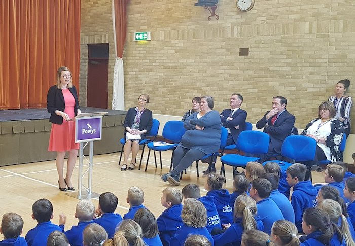 New primary school officially opened