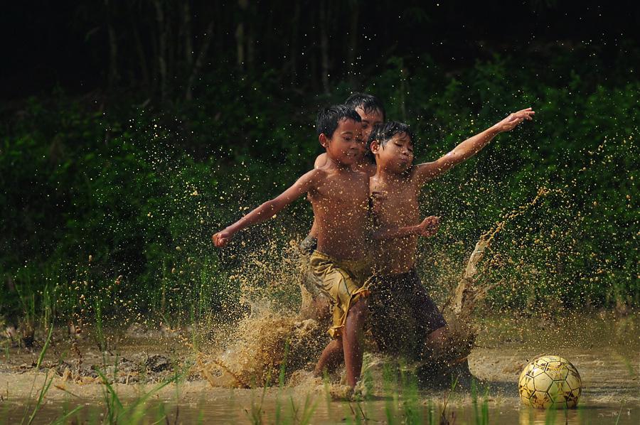 Soccer Mudness by Bimo Gupono - Babies & Children Children Candids