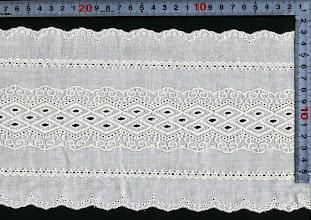 Photo: №015013-118綿ダブルガーゼ:巾155mm