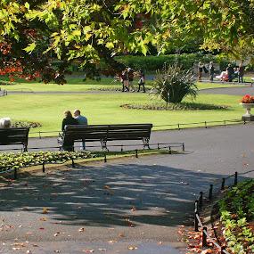 St Stepehen Green by Ioan G Hiliuta - City,  Street & Park  City Parks