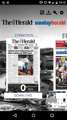 The Herald Sunday Herald App