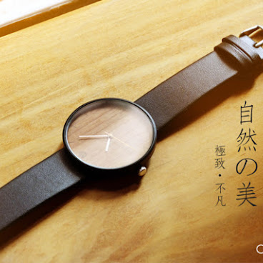 Oak Watch (black color)
