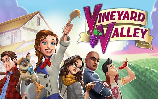 Vineyard Valley: Match & Blast Puzzle Design Game android2mod screenshots 12