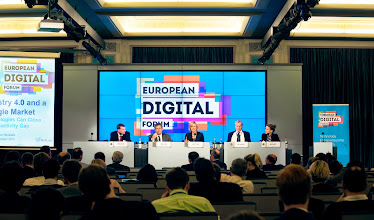 """Photo: Special Presentation and High-Level Debate """"Making it Happen: How the Juncker Commission Can Deliver the Digital Single Market"""""""