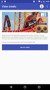 3D VR virtual reality glasses. screenshot 2