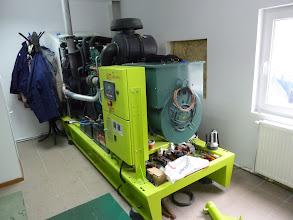 Photo: Generator Volvo 205 kva, Rezervele de Stat, Buciumeni