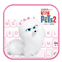 Life Of Pets 2 Gidget Keyboard Theme icon