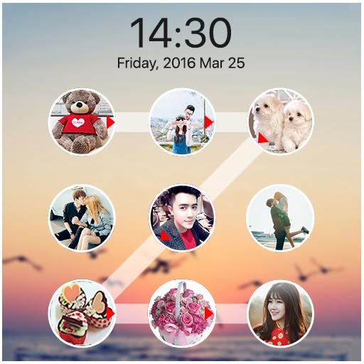 lock screen photo pattern (app)