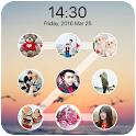 lock screen photo pattern icon