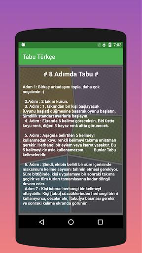 Tabuu - 10.000 u00dccretsiz Kelime android2mod screenshots 2