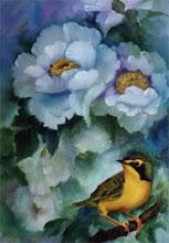 Photo: WL017 Kentucky Warbler (for 12 x 24 canvas) $7.99