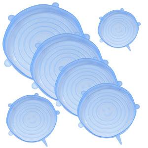 Set 6 capace flexibile din silicon, pentru caserole