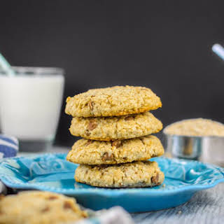 Steel Cut Oatmeal and Chocolate Chip Cookies.