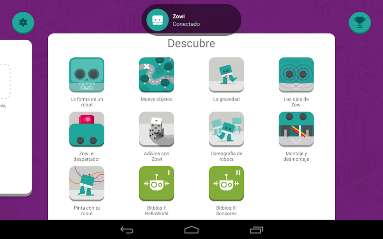 android Zowi App Screenshot 17