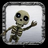 Skeleton Crash Run