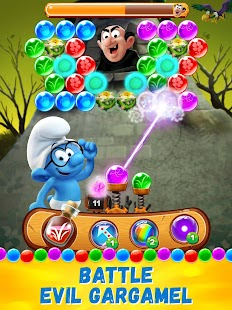Smurfs Bubble Shooter Story Screenshot