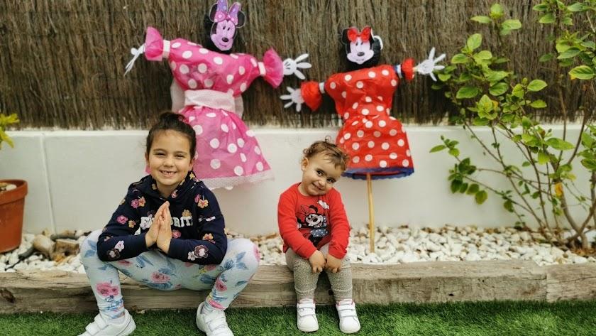 La Vieja ha supuesto un respiro y una alegría para muchos niños que no pueden salir a la calle durante estos días.