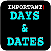 Important Days & Dates (India)