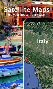 Voice Navigation Navigation Map Street View Live Android Apps - Live satellite images of your house