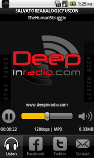 Deepinradio- screenshot thumbnail