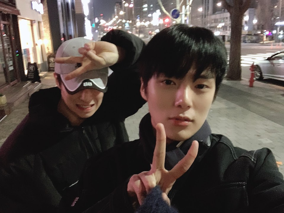 sf9 dawon monsta x minhyuk 2