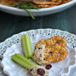 White Bean Dip with Rosemary and Cranberries