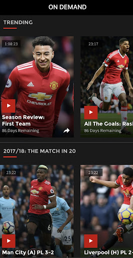 MUTV - Manchester United TV 2.4.0 screenshots 2