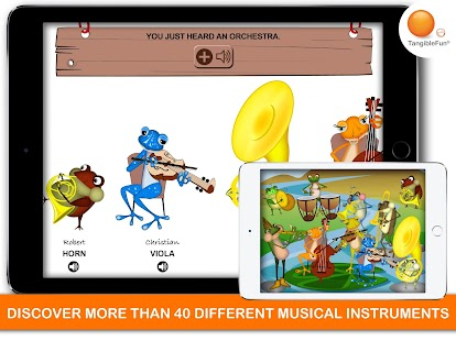 Music Games: The Froggy Bands Screenshot