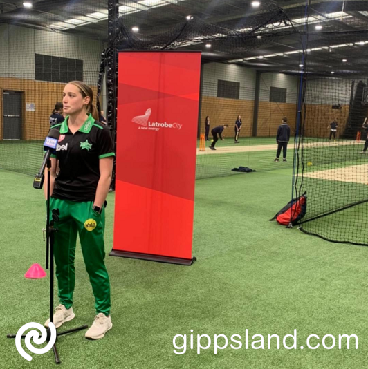 Australian cricketers women's captain Meg Lanning, will be playing at Moe on 23 and 24 October 2021