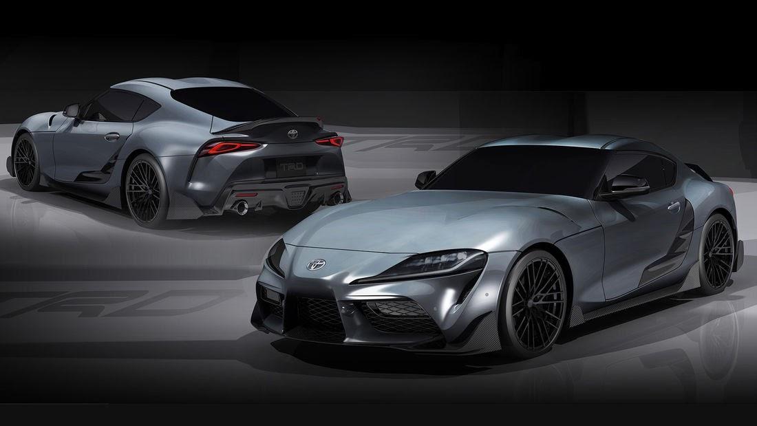 GR Supra Performance Line TRD Concept