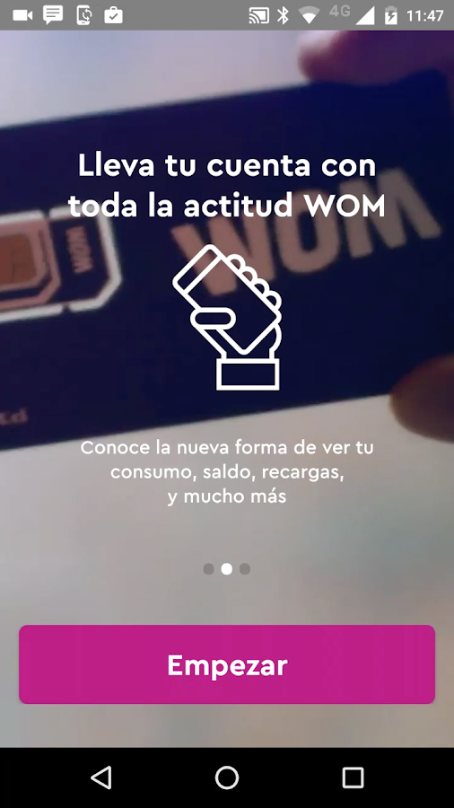 WOM- screenshot